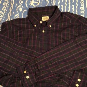 Gitman Bros. Men's shirt size large